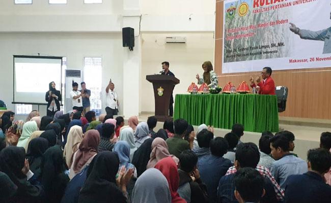 Kementan Gandeng Mahasiswa dan Kampus Pertanian di Seluruh Indonesia