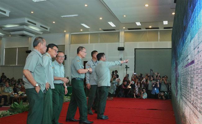 Kementan Sambungkan Jaringan dan Informasi Pertanian Seluruh Indonesia