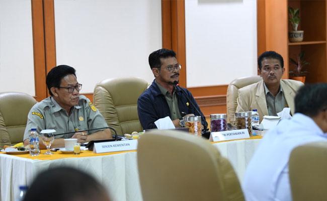 Kementan Sektor Tanaman Pangan Tingkatkan Ekspor Tiga Kali Lipat