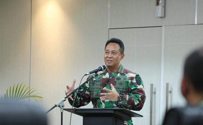 Jenderal Andika: Kami All Out Dukung Pertanian